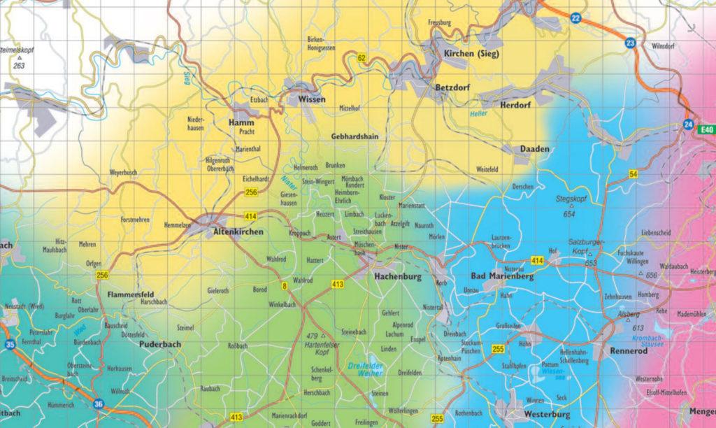 westerwald-karte